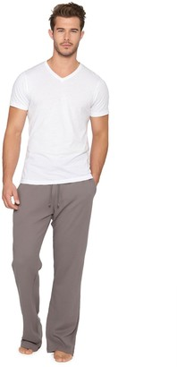 Barefoot Dreams Men's Washed Short Sleeve V-Nec k Tee