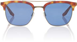 00272d31b8a6 Barton Perreira Exclusive Lenox Havana D-Frame Metal Sunglasses
