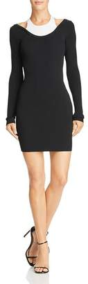 Alexander Wang Layered-Look Mini Dress