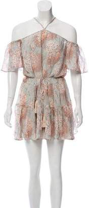 LoveShackFancy Silk Mini Dress w/ Tags