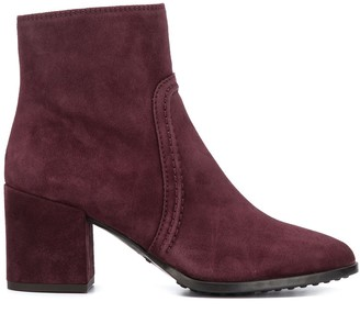 Tod's chunky heeled ankle boots