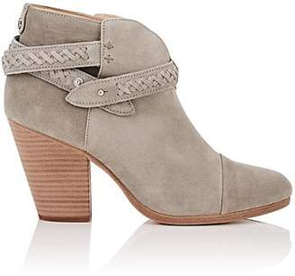 Rag & Bone WOMEN'S HARROW SUEDE ANKLE BOOTS