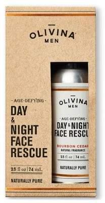 Olivina Bourbon Cedar Day and Night Face Rescue/2.5 oz.