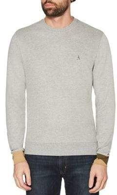 Original Penguin Camouflage-Cuff French Terry Sweatshirt