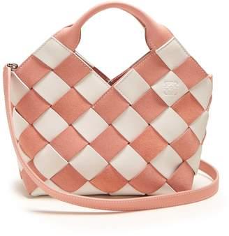Loewe Woven-leather cross-body bag