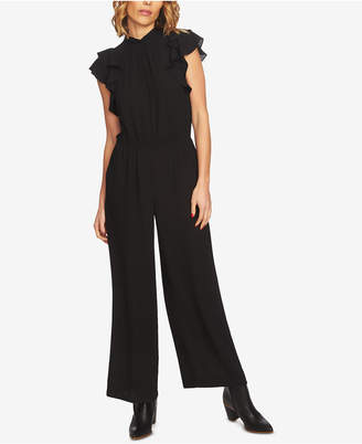1 STATE 1.state Flutter-Sleeve Jumpsuit