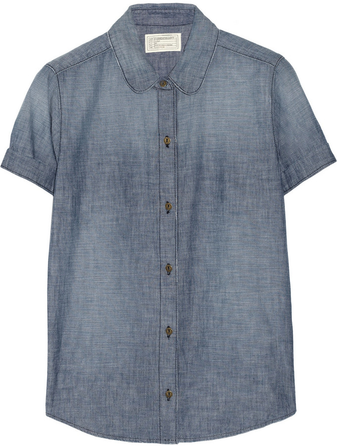 Current/Elliott The Paper Boy chambray shirt