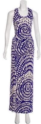 Nicole Miller Jersey Maxi Dress