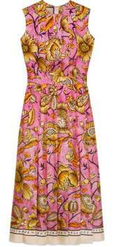 Gucci Silk dress with watercolor flowers