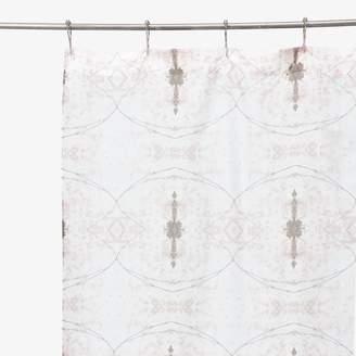 Co Abc Create Eskayel ABC Create Eskayel Shamsun Shaman's Smoke Shower Curtain Raspberry