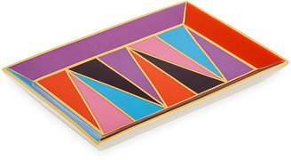 Jonathan Adler Harlequin Rectangle Tray