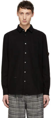 Robert Geller Black The Franz Pocket Shirt
