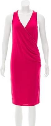 Galliano Sleeveless Knee-Length Dress w/ Tags