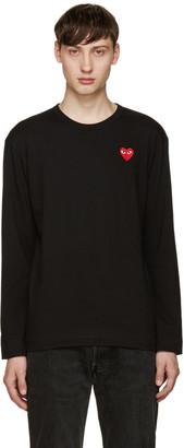 Comme des Garçons Play Black Heart Patch T-Shirt $115 thestylecure.com