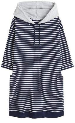 Violeta BY MANGO Striped sweatshirt dress