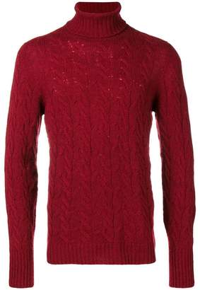 Drumohr knitted turtleneck sweater
