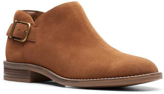Clarks Collection Women Camzin Pull Booties Women Shoes