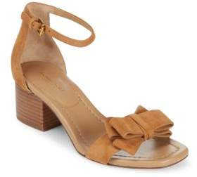 Michael Kors Winnie Suede Ankle-Strap Sandals