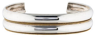 Tiffany & Co. Two-Tone Sculpted Rope Cuff $325 thestylecure.com
