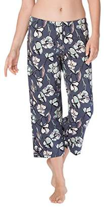 Calida Women's Favourites Trend Pyjama Bottoms, (Mystic Blue 428)