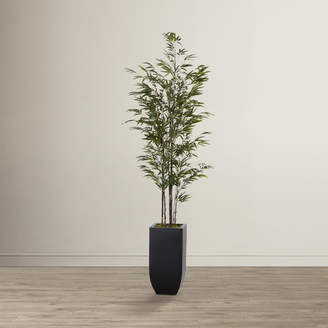Mistana Artificial Bamboo Tree in Planter Base
