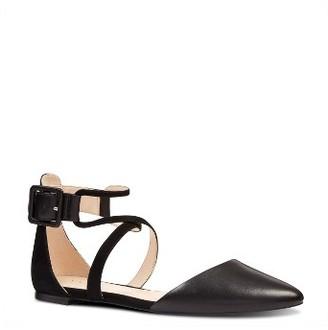 Women's Nine West Zayday Ankle Strap Flat $89.95 thestylecure.com