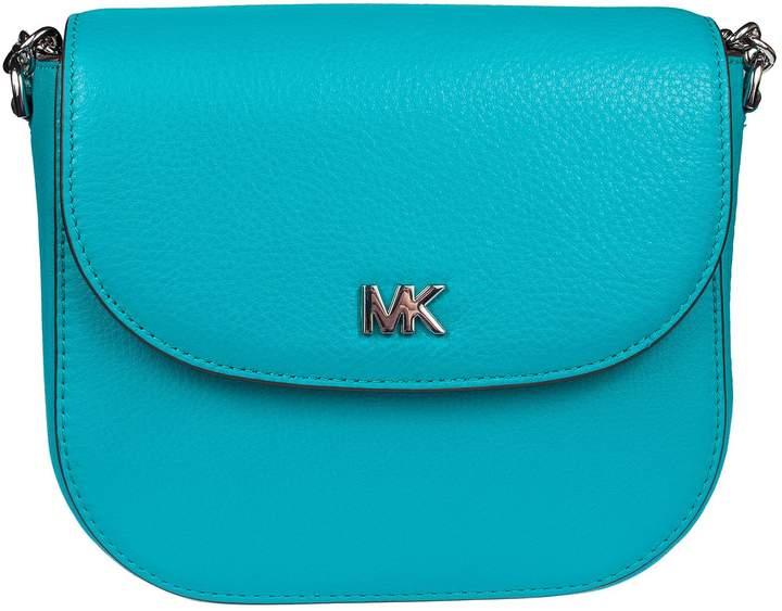 Michael Kors Dome Shoulder Bag - TILE BLUE - STYLE
