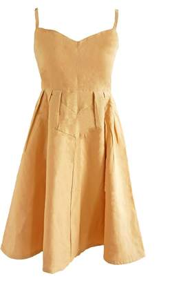 Butter Shoes Esfera. Sustainable Sun Dress In Yellow