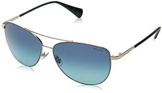 Ralph Lauren Ralph by Women's 0ra4122 Non-Polarized Iridium Aviator Sunglasses
