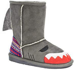 Muk Luks Kids' Finn Shark Boots