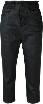 Rick Owens cropped skinny jeans