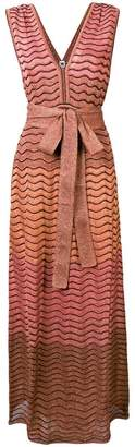 M Missoni metallic fibre dress