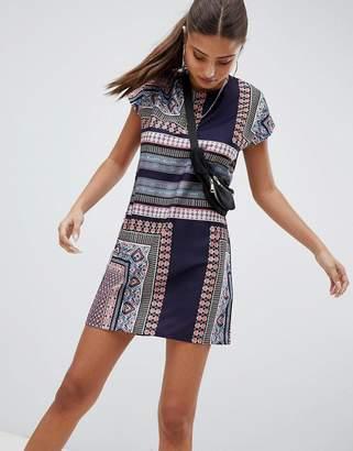 Noisy May Festival Print Dress