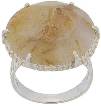 Wouters & Hendrix My Favourites rutilated quartz stone ring