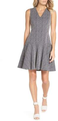 Eliza J Sleeveless Fit & Flare Dress