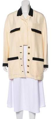 Chanel Silk Jacket