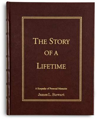 Personal Creations Personalized Leather Story of a Lifetime Book