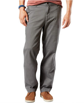 Dockers Classic Fit Washed Khaki Stretch Pants D3