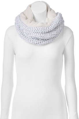 Juicy Couture Cable-Knit Cowl Scarf $40 thestylecure.com
