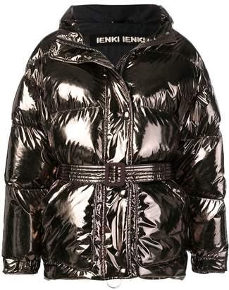 Ienki Ienki foil-like puffer jacket