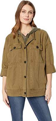Lucky Brand Women's Hooded Utility Jacket