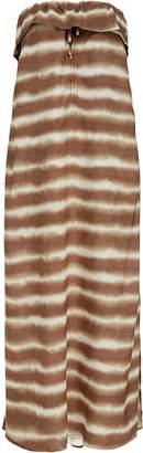Vix Cleo Vintage Brown Maxi Dress