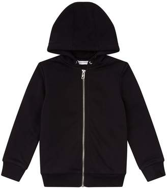 Givenchy Logo Zip-Up Hoodie