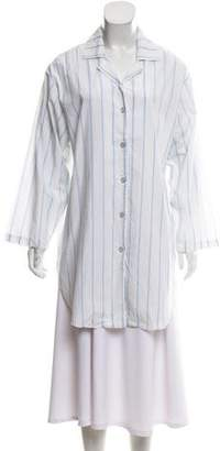 Christian Dior Striped Oversize Tunic
