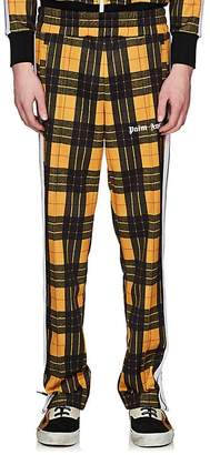 Palm Angels Men's Plaid Jersey Track Pants