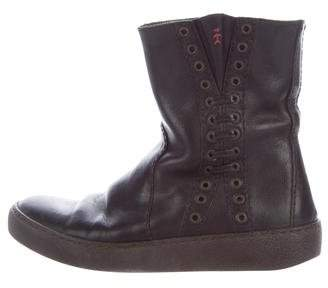 Henry Beguelin Leather Ankle Boots