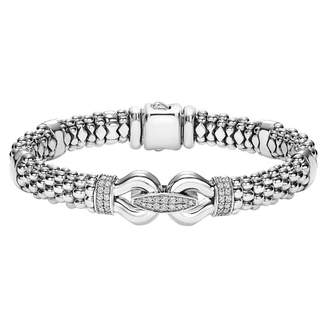 Lagos 'Derby' Caviar(TM) Diamond Rope Bracelet