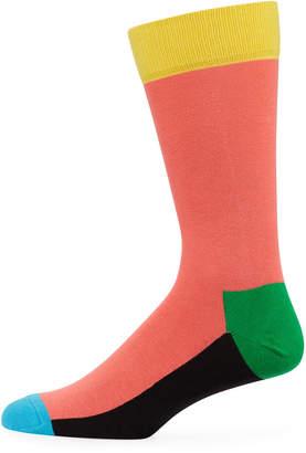 Happy Socks Men's Colorblock Socks