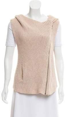 Helmut Lang Zip-Up Hood Vest