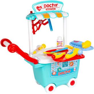 Yuka 13Pc Doctor Medical Center Trolley Playset